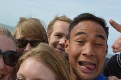 Group Selfie fail!